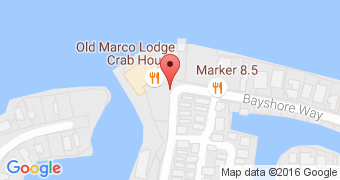 Old Marco Lodge Crab House