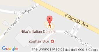 Niko's Italian Cuisine