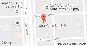 Cou-Yons Bar-B-Q