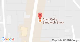 Alvin Ord's Sandwich Shop No 2