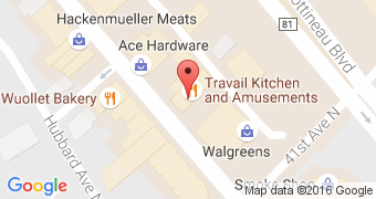 Travail Kitchen and Amusements