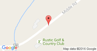 Rustic Golf Club Restaurant