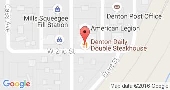 Denton Daily Double Steakhouse