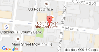 Collins River BBQ & Cafe