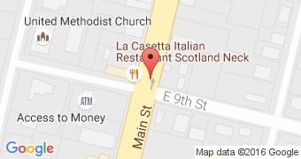 La Casetta Italian Restaurant Scotland Neck