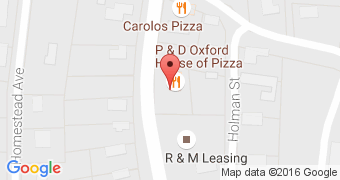P & D Oxford House of Pizza
