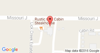 Rustic Oak Cabin Steakhouse