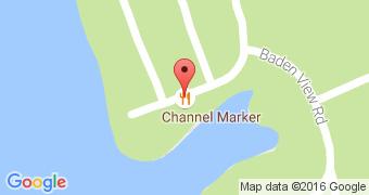 Channel Marker at Badin Shores