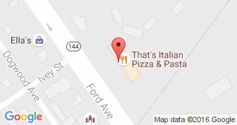 That's Italian