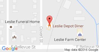 The Leslie Depot Diner
