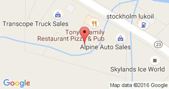Tony's Restaurant Pizza & Pub