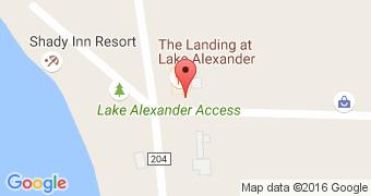 The Landing at Lake Alex