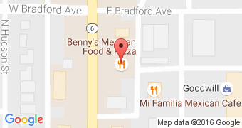 Benny's Mexican Food & Pizza