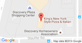 King's New York Style Pizza & Italian Restaurant