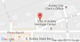 Ackey Heritage Soda Fountain