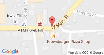 Frewsburger Pizza Shop