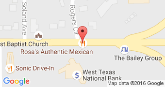 Rosa's Authentic Mexican