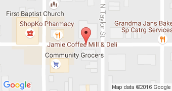Jamie and Coffee Mill and Deli