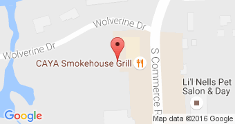 Caya smoke house grill