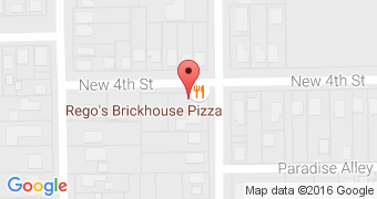 Rego's brickhouse pizza