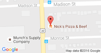 Nick's Pizza and Beef