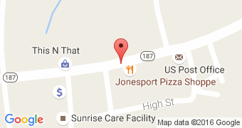 Jonesport Pizza Shop