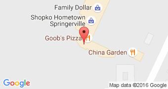 Goob's pizza!