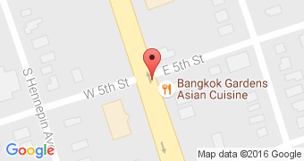 Bangkok Gardens Asian Cuisine