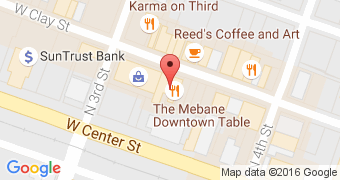 The Mebane Downtown Table