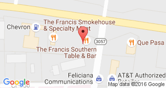 The Francis Southern Table and Bar