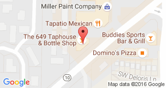 The 649 Taphouse and Bottle Shop