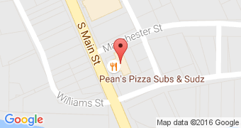 Pean's Pizza, Suds and Subs