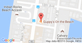 Guppy's on the Beach
