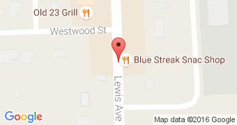 Blue Streak Snac Shop