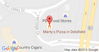 Marty's Pizza